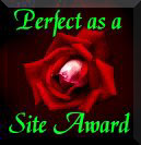 Perfect as a Site Award