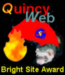 QuincyWeb Bright Site Award